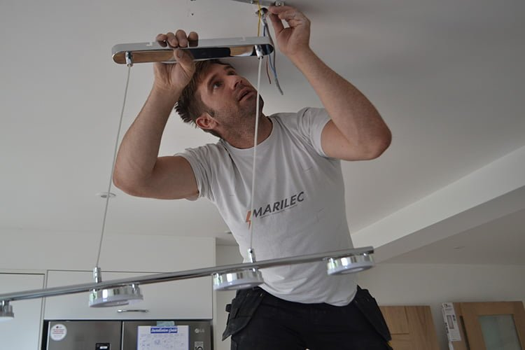 Installing and rewiring kitchen electrics | Mariclec Electricians ...